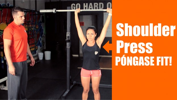 Póngase Fit: Shoulder Press